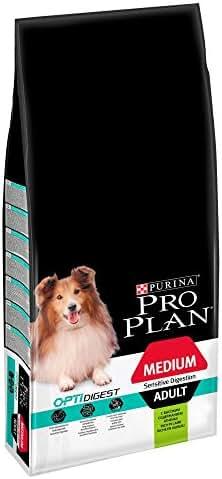Proplan : Croquette Pro Plan Chien Medium Adult Sensitive Digestion: Agneau 14kg