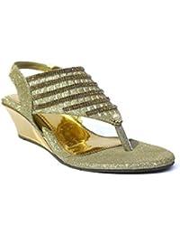5a8bcfb59ea Gold Girls  Fashion Sandals  Buy Gold Girls  Fashion Sandals online ...