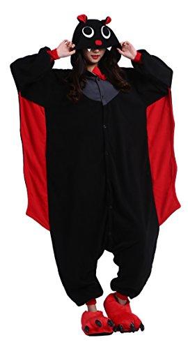 toon Halloween Cosplay Kostüm Kapuzen Strampelanzug Pyjama Party Anime Nachtwäsche S (Ky Halloween Kostüm)