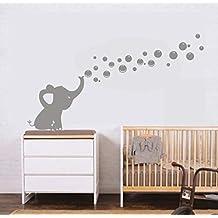 Amazon.fr : stickers elephant chambre bebe