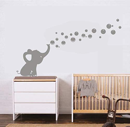 Les Bulles 'Eléphant Stickers Muraux Autocollants De Bricolage Décoration Bébé Mur Autocollants...