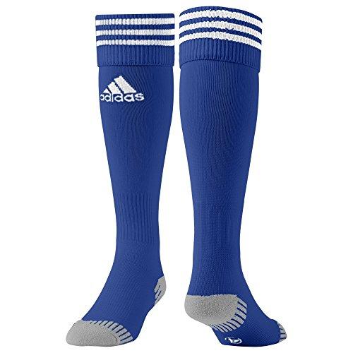 Adidas adisock 12 - calzini da calcio uomo, blu (cobalt/bianco), 3, 1 paio