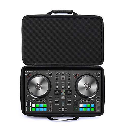 Esimen Hartschalenkoffer für Native Instruments Traktor Kontrol S2 MK3 DJ-Controller, Schwarz