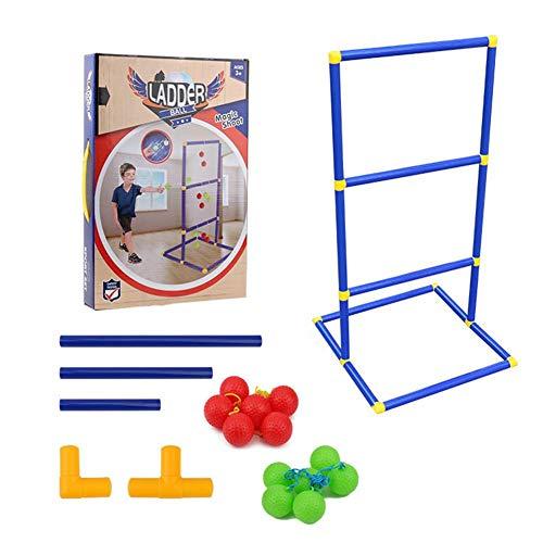 Luminous Ladder Ball Game Set, Leiter Ball Game Set Leiter Ball Werfen Für Outdoor-Rasenspiel Mit Schweren Rohren Für Hinterhof Rasen Camping Kinder Indoor-Sport Spielzeug Ball Für Erwachsene Kinder