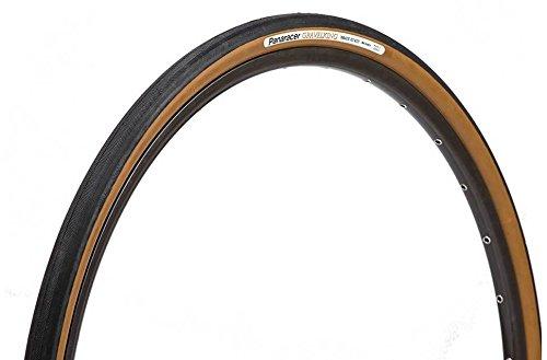 panaracer Kies King faltbar Reifen mit Braun Seitenwand, Unisex, schwarz, 27.5
