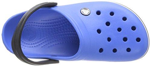crocs Unisex-Erwachsene Crocband Clogs Blau (Varsity Blue/Black)