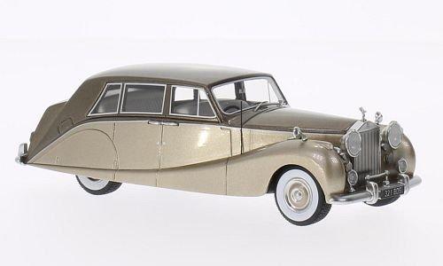 rolls-royce-silver-wraith-empress-line-by-hooper-metallic-beige-metallic-brun-1956-voiture-miniature