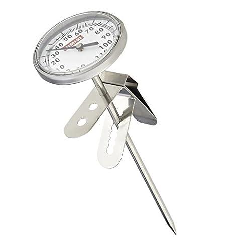 Thermomètre à Boisson Chaud pour Café Lait Lecture Instantané Outil Cuisine