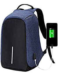 LOF Anti Theft Backpack Waterproof Business Laptop Bag With USB Charging Port For 15 Inch Laptop, Notebook, Camera...