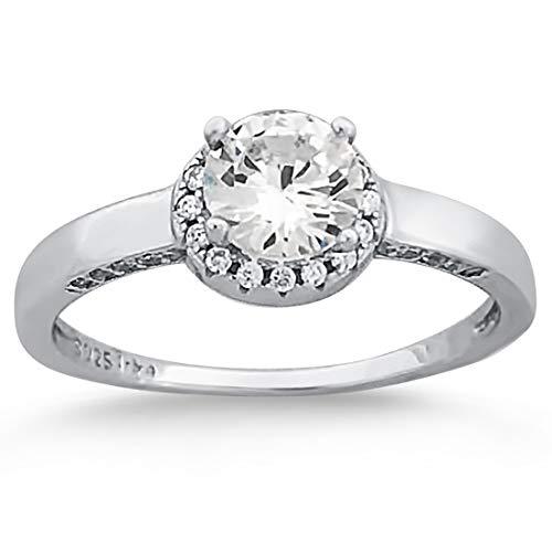 Verlobungsring Mit Dem Besten Service Ausdrucksvoll Zirkon Ring In Box Tiffanys