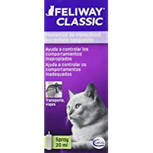 Feliway Classic, Spray Feromona Facial Anti Estrés para Gatos ...