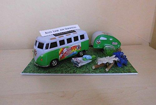 Geldgeschenk für die Reise/Urlaub Wohnmobil Bus