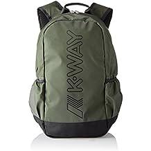 K-Way - 7akk8124a9501, Mochilas Hombre, Verde (A95 Green Wood), 14x42x30 cm (W x H L)