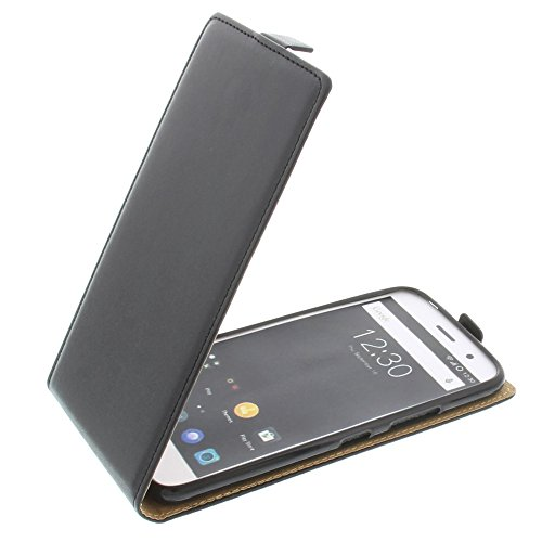 foto-kontor Tasche für ZUK Z1 5.5 Smartphone Flipstyle Schutz Hülle Schwarz