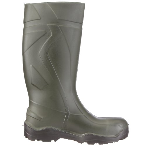 Dunlop S3 PUROFORT DU762943 Stivali di gomma senza mascherina in acciaio uomo Verde