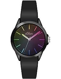 s.Oliver Unisex-Armbanduhr Analog Quarz Silikon SO-3197-PQ