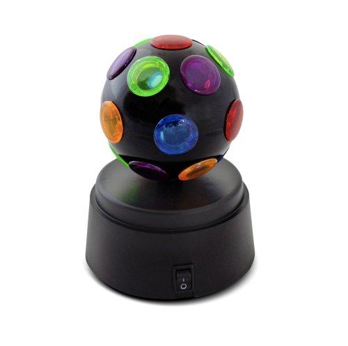 X4-LIFE Color Discokugel S Lichteffekt rotierende Partybeleuchtung mobil farbig