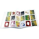 Vosarea Einsteckalbum 288 Taschen Fotobuch Ticket Album Gästebuch für 3 Zoll Fotopapier von Fuji Instax Mini Instant Camera 16 Blätter