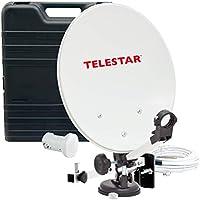 Telestar 35 Parabola satellitare da campeggio, Bianco, 35 cm (13.7 pollici)