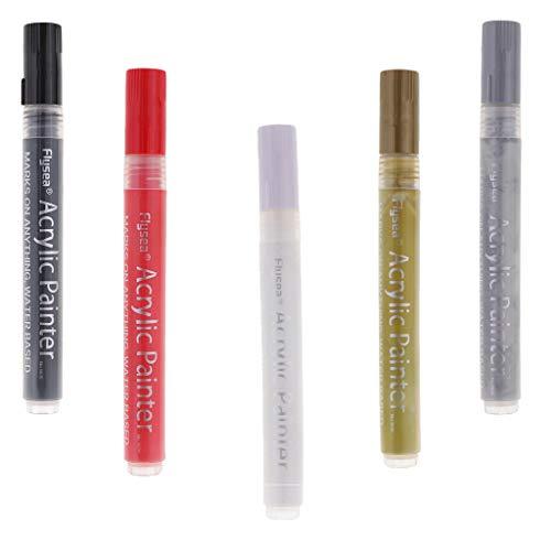 Ipotch pennarelli vernice acrilica pittura permanente no tossico forniture per cancelleria