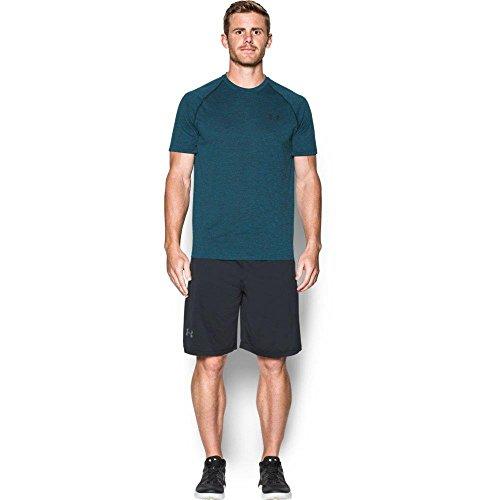 Under Armour Ua Tech Ss Tee Herren Fitness - T-Shirts & Tanks, Grün (Peacock Green), M
