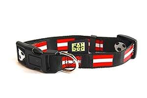 Hundehalsband FanDog - Österreich - Grösse M