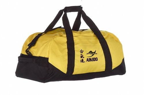 Kindertasche gelb/schwarz Aikido