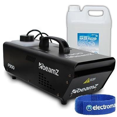 Beamz F900 Fazer Haze Machine + 5L Fluid 900W