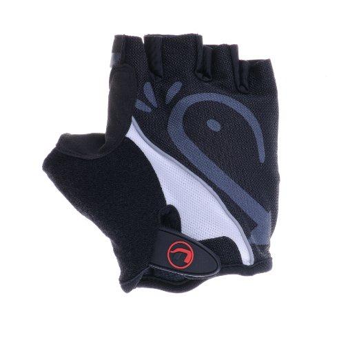Ultrasport Fahrrad Handschuhe, schwarz, XL, 10214 - 5