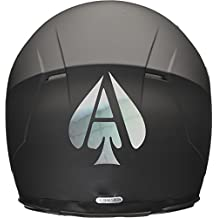 ACE OF SPADES Casco de Moto Coche Adhesivo 100 mm x 120 mm ...