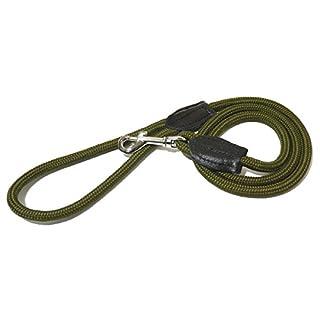 Rosewood Rope Twist Lead, Green