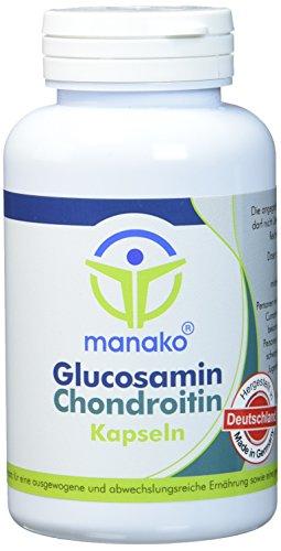 manako Glucosamin und Chondroitin Kapseln, 120 Stück, Dose a 96 g (1 x 120 Kapseln) -