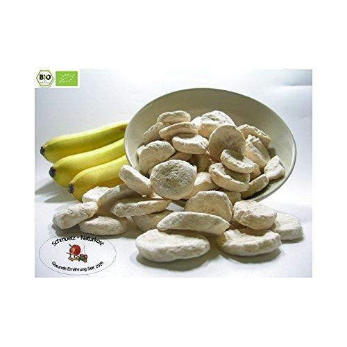 Gefriergetrocknete bio Bananenscheiben 100g von Schmütz-Naturkost, Bio Trockenfrüchte