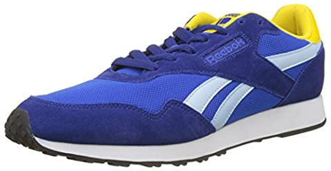 Reebok Royal Ultra, Baskets Basses Homme, Bleu (Deep Cobalt/Vital Blue/Fresh Blue/Yellow/White/Black), 42 EU