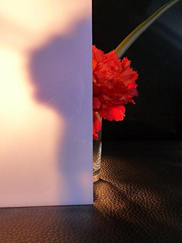 Platte Polycarbonat 30% Ld. 500 x 400 x 3 mm Reststück Milchglas Zuschnitte Sonderpreis alt-intech® -