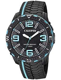 d79aaaaaecb9 Calypso Watches Reloj Analógico para Hombre de Cuarzo con Correa en  Plástico ...
