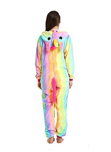 Kenmont Jumpsuit Tier Cartoon Einhorn Pyjama Overall Kostüm Sleepsuit Cosplay Animal Sleepwear für Kinder / Erwachsene Seal