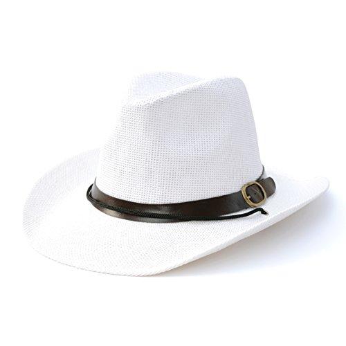 Chapeaux de soleil coréen/Chapeaux de plage/Chapeau en plein air/Paille/Chapeaux vacances B