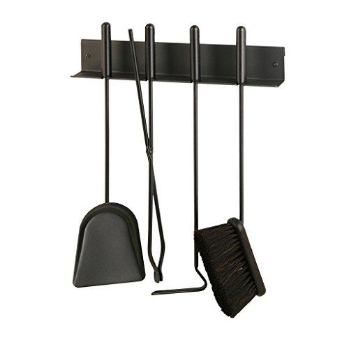 Heibi Serviteur de cheminée avec 4 appareils à montage mural/(52348–028)
