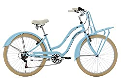 KS Cycling Beachcruiser Cargo Cruiser 26'' Melba blau RH 41 cm