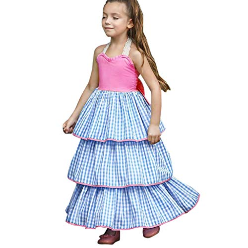 cinnamou Kleid Geburtstag Party Brautkleid Schiere Skirt Ballett Rock Mädchen Tutu Rock Unterrock Kurzkleid Tüllrock Von 2 Bis 7 Jahre (Kleider Mädchen In Schiere)