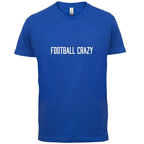Football Crazy - Herren T-Shirt - 13 Farben Royalblau