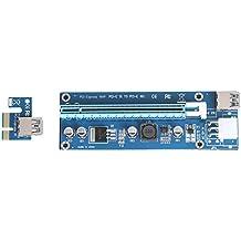 AMAZINGDEAL365USB3.0pci-e1x A 16x Extender riser 6PIN DC-DC adattatore cavo per Minerario