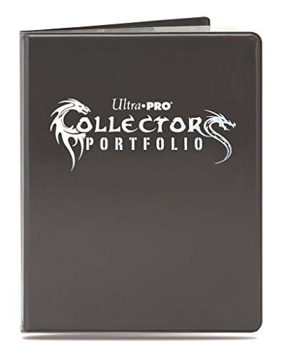 Ultra Pro 9-Pocket Portfolio - Gaming Collectors Portfolio Black - Magic: The Gathering (Pro 9 Pocket)