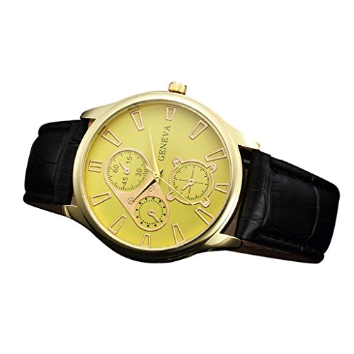Orologio,yesmile men's analogue quartz wrist watch date day 24hrs luminous silver sport black nylon strap (c)