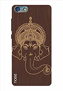 Noise Wooden Ganpati Face Printed Cover for Huawei Honor 4X