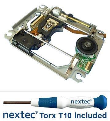 Neu - Sony PS3 Laser + Rahmen (KES-400A/ KES-400AAA/ KEM-400A/ KEM-400AAA) + Nextec® Torx T10 Security Schraubendreher