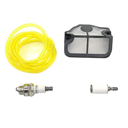 Shioshen Luft Filter Kraftstoff Schlauch Zündkerze Kit für HUSQVARNA 36 41 136 141 LE LE 137 e 142 e Kettensäge