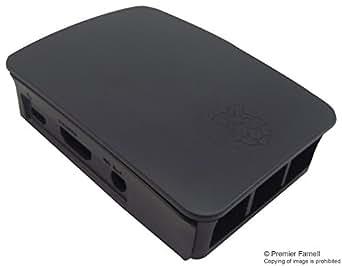 Raspberry-Pi rpi3-case-blk-gry Dev Board Box, Raspberry Pi 3Modello B, colore: nero/grigio
