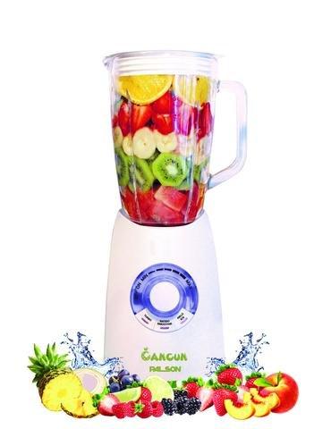 Palson CANCÚN Batidora de vaso, 1250W, 1,5 litros, 1250 W, Vidrio, Blanco